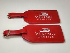 2x Viking Cruises Luggage Tag Red