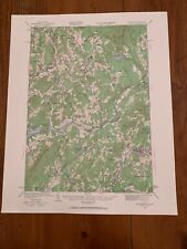 Littleton Vermont New Hampshire 1932 Original Vintage Usgs Topography Topo Map