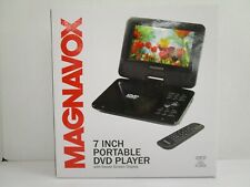 Magnavox 7 Inch Portable Dvd Cd Player - Swivel Screen Display + Remote Nt 6743