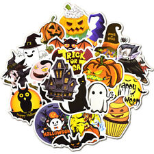 25 Halloween Holiday Stickers Vinyl Decals Lot for Kid Trick Treat Party Gift