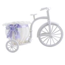1Pcs DIY Wedding Decor Tricycle Bike Flower Basket Plant Storage Decor