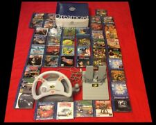 SEGA DREAMCAST PAL BOXED + 43 GAMES CIB (most as new) - Shenmue, Sonic and more