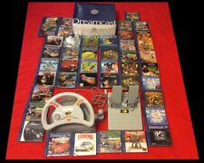SEGA DREAMCAST PAL BOXED + 42 GAMES CIB (most as new) - Shenmue, Sonic and more