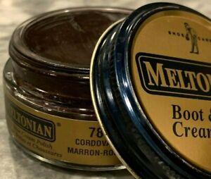 Meltonian Shoe Polishing Cream Leather Boot and Shoe Care #78 CORDOVAN