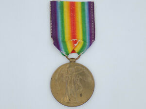Vintage WWI Inter-Allied Victory Medal United Kingdom Indian Army Cavalry Named