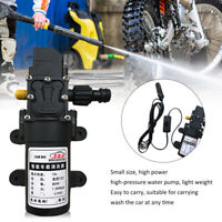Portable DC 12V 80W 160PSI High Pressure Electric Car Wash Washer Water Pump