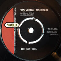 The Kestrels - Wolverton Mountain / Little Sacka Sugar 7 Inch Piccadilly 1962 UK