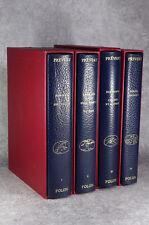 PRÉVERT. ŒUVRES. 84 AQUARELLES ET 57 COLLAGES DE FOLON. 4 VOLUMES. 1982.
