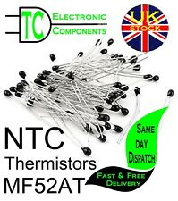 MF52AT NTC Thermistors Different values available (5 pack) **UK SELLER**
