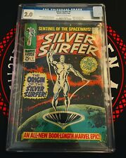 Marvel Silver Surfer 1 CGC 2.0 Origin of the Silver Surfer