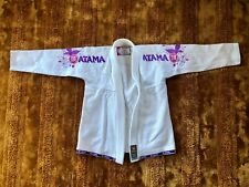 Atama Limited Edition Women's Gi, Size F3, White with Pink and Purple Details
