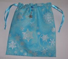 Sparkly Snowflakes Tarot, Runes, Crystals, Angel, Gift Bag Winter Christmas