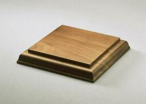 Solid Walnut Display Bases for collectibles, art, models, crystals, meteorites