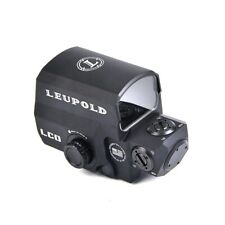 Red Green Dot holosight replica Leupold Carabine Optic LCO Airsoft Softair BLACK