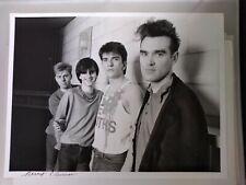 THE SMITHS MORRISSEY ORIGINAL PHOTO Vintage 1984 photograph strangeways signed