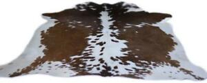 NEW LARGE 100% COWHIDE LEATHER RUGS TRICOLOR COW HIDE SKIN CARPET AREA 18-35SQFT