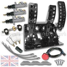 FIESTA mk1-2-3 Pedale Pavimento idraulico montato BOX + Kit B cmb1301-Kit + Linee