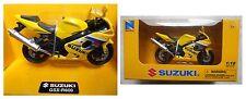 Suzuki GSX R600, modellismo NewRay 1:18 Die-Cast, moto motocicletta