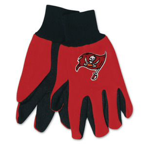 NFL Tampa Bay Buccaneers Utility Gloves Work or Winter