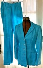 New listing Vintage 1970's Lasso Western Blue Suit Set Rodeo Cowgirl Women's