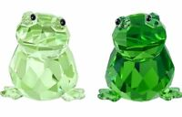 NIB $99 Swarovski Crystal In Love Angelo & Angelina Frog Pair #5136524