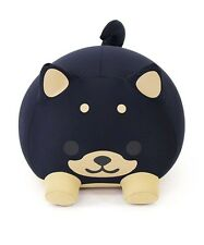MOGU Cushion Pillow Plush Doll Black Cute Dog With Tracking With Tracking Japan