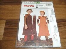 BURDA Schnittmuster 9915                  2x TRÄGERROCK                  116-140