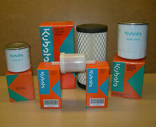 GENUINE Filter Kit For Kubota G2160 Tractor Inc Air Oil Fuel & Hydraulic Filters