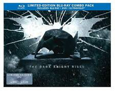 The Dark Knight Rises (Blu-ray/DVD, 2012, UltraViolet Limited Edition Bat Cowl)