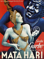 Mata Hari Vintage Greta Garbo Movie Poster Print -24x36