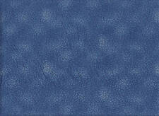 Stof - QUILTERS BASIC DUSTY RANGE - 4514-607 Speckles - Blue -100% Cotton Fabric