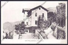 BERGAMO SAN PELLEGRINO TERME 86 VILLA WILMA Cartolina