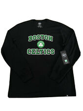 MEN'S NBA BOSTON CELTICS LOGO '47 BRAND LONG SLEEVE SHIRT / XL (BRAND NEW!)