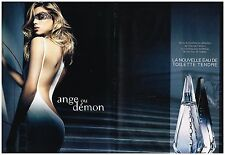 "Publicité Advertising 2008 (2 pages) Eau de Toilette ""Ange ou Demon"" Givenchy"