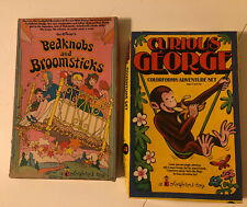DISNEY BEDKNOBS & BROOMSTICKS VINTAGE COLORFORMS - 1970's - GREAT SHAPE & BONUS!