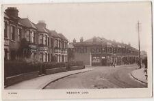 Neasden Lane, London 1912 RP Postcard B854