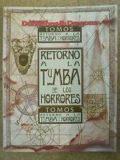 Libro Rol,Dungeons & Dragons,Retorno a la Tumba de los Horrores,TSR