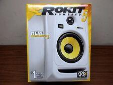 KRK Rokit Powered 5 Gen 3 Studio Monitor Pair (White)