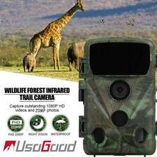 Usogood Wildkamera 20MP Überwachungskamera Wasserdicht Fotofalle PIR Nachtsicht