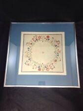Circle of Flowers Shaker Art Framed Print American Folk Art Polly Collins