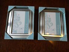 "Habitat Decor 5"" x 7"" Silver Color Frames - Set of 2 - NEW"