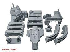 Star Wars legion 40k Infinity Compatible Terrain - Modular Landing bay