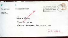 Netherlands 1992 Cover To Germany #C14464