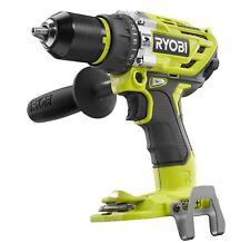 """New Ryobi P251 One + 18V 18 Volt 1/2"""" Brushless 2 Speed Hammer Drill Driver"""