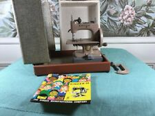 VINTAGE SINGER SEWHANDY CHILD'S SEWING MACHINE w/Box Model 20 + EXTRAS
