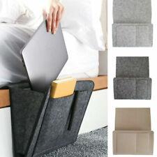 Hanging Sofa Bedside Storage Bag Caddy Pocket Bed Phone Book Holder Organizer