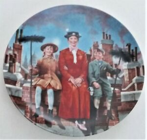 NEW Walt Disney Mary Poppins Collectors Plate #8618 A COA