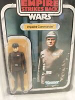 1981 Star Wars Imperial Commander Kenner Action Figure ***Recarded*** Star Case