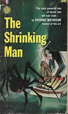 THE SHRINKING MAN  by Richard Matheson - 1st Paperback Printing