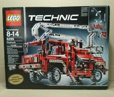 Lego 8289 Technic Firetruck - New - Sealed - Rare - Box has some wear